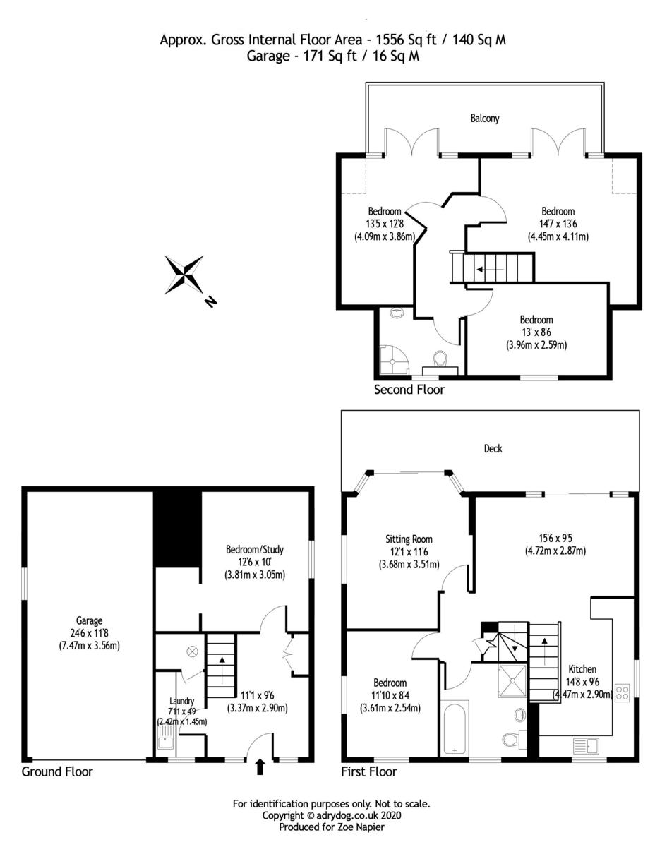 St Osyth, Essex floorplan