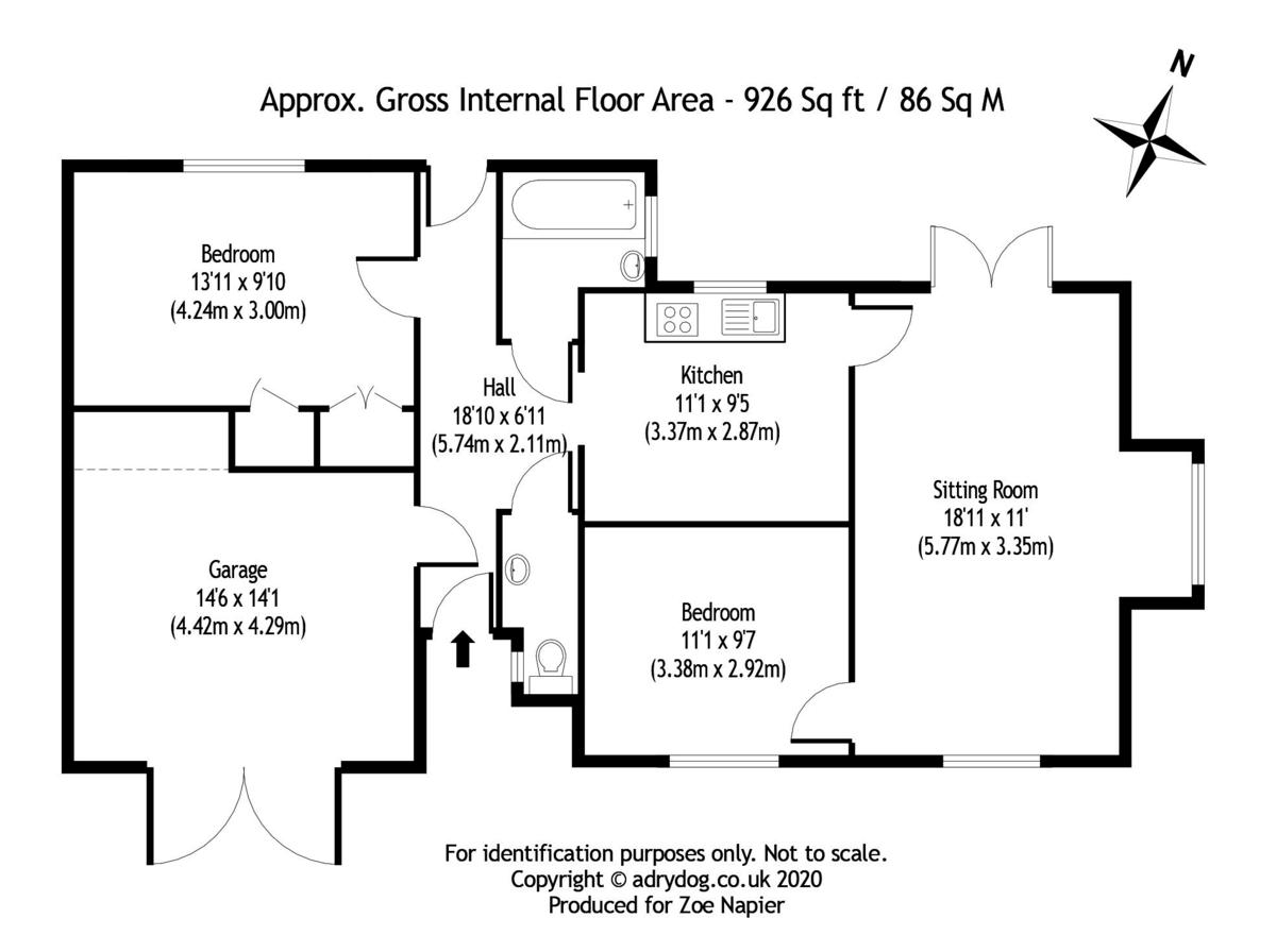 St. Lawrence floorplan