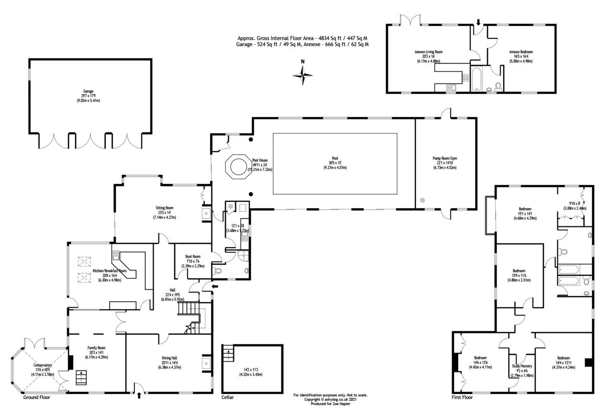 St. Lawrence, Southminster floorplan