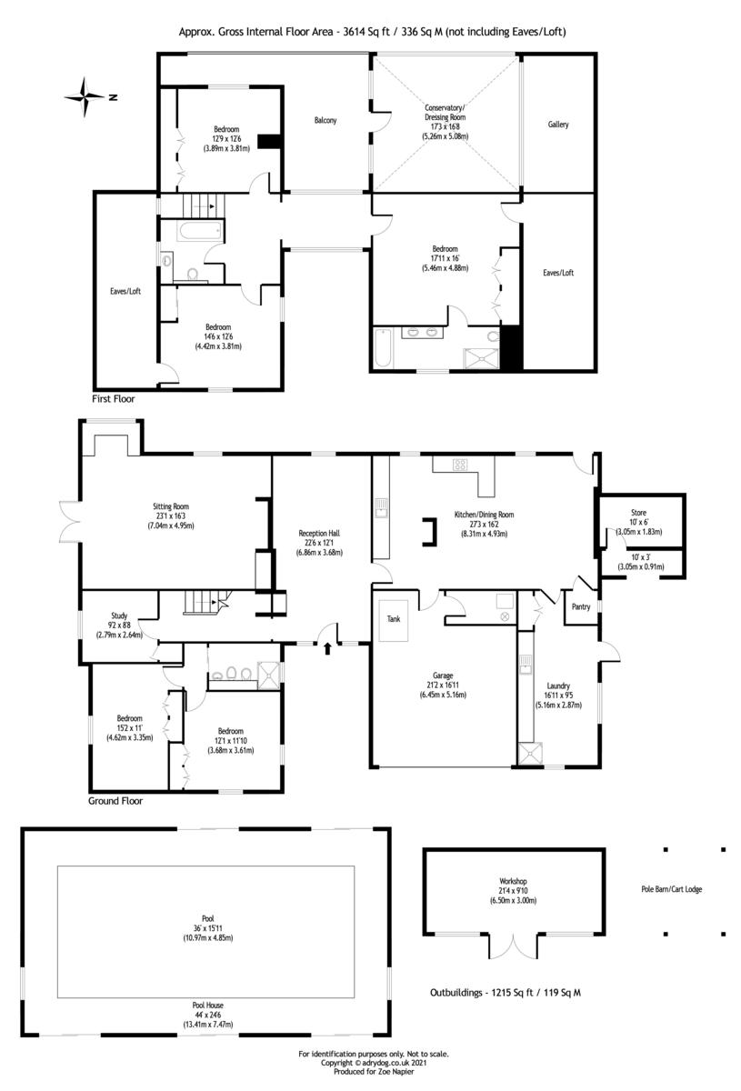 Abberton, Colchester floorplan