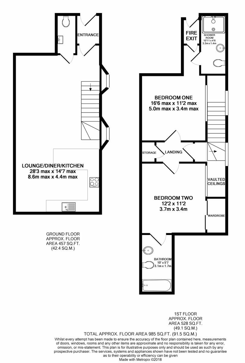 St James Church Charlotte Road floorplan 1 of 1