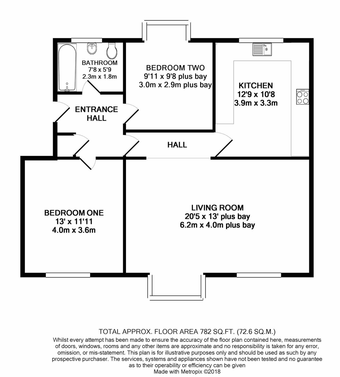Hindon Square Vicarage Road floorplan 1 of 1