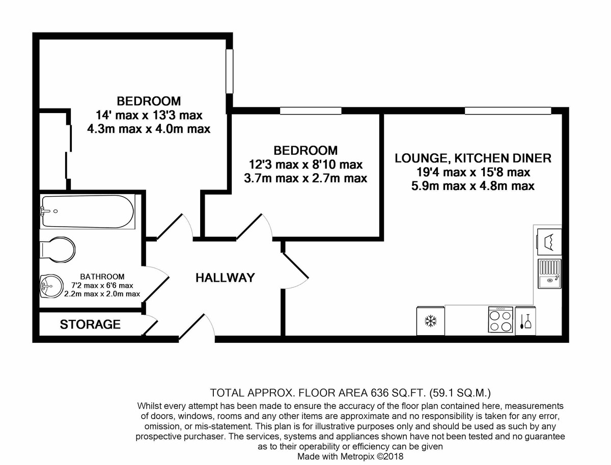 Cutlass Court, Granville Street floorplan 1 of 1