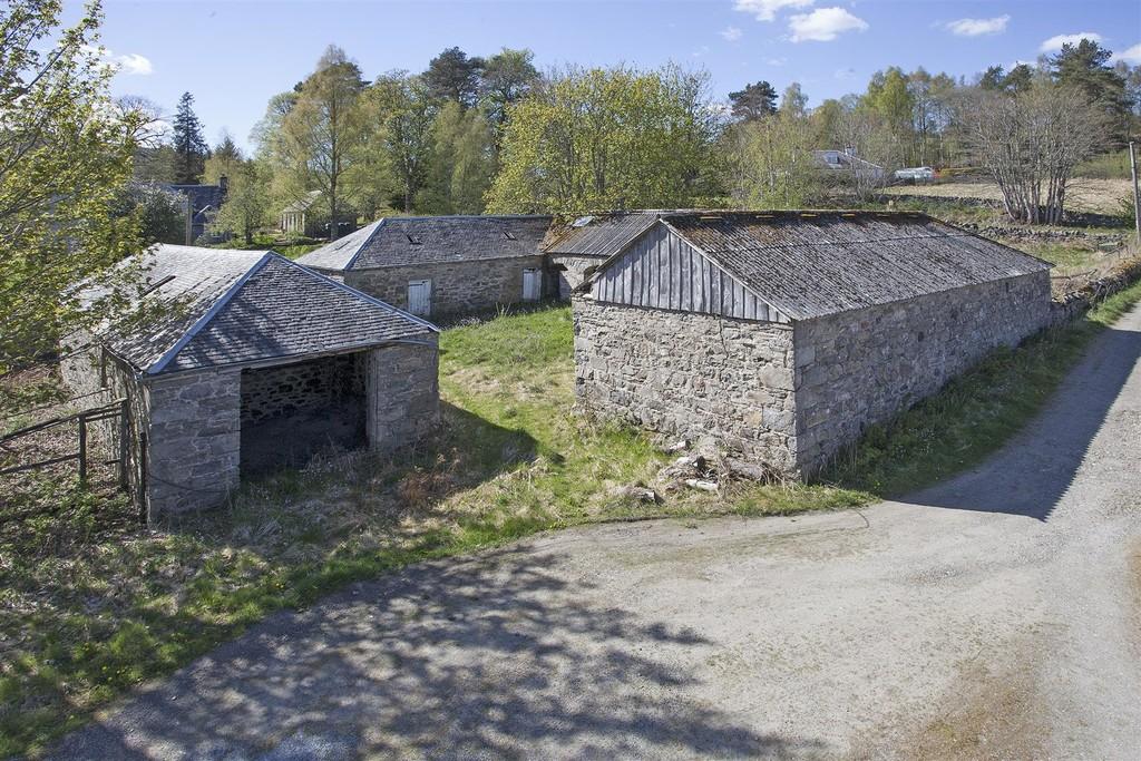 Calvine Farm steading, Calvine, Pitlochry