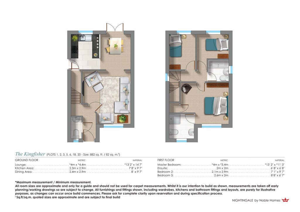 Plot 20 The Kingfisher 8 Almond Court Moorends Doncaster DN8 4FJ