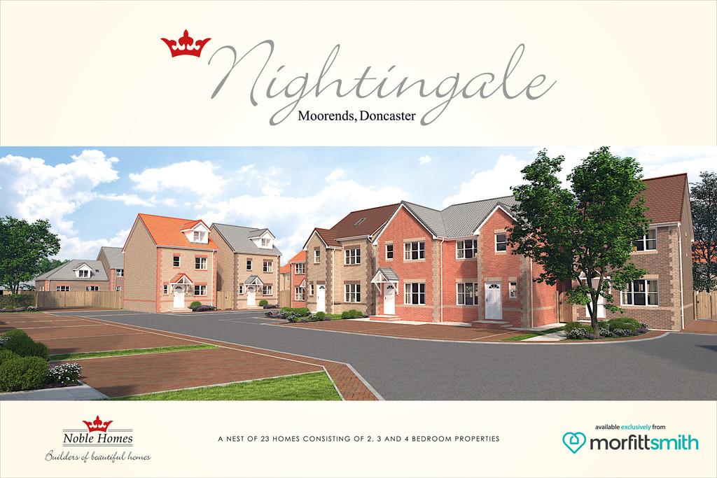 Plot 7 The Kestrel 9 Almond Court Moorends Doncaster South Yorkshire DN8 4PF