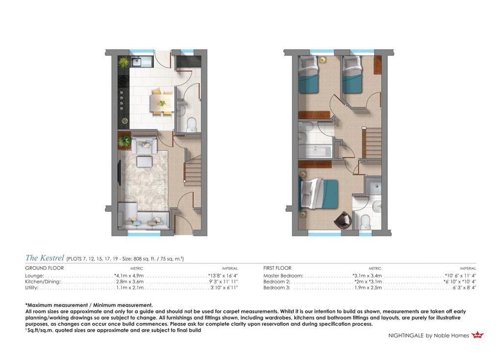 Plot 17 The Kestrel 14 Almond Court Moorends Doncaster South Yorkshire DN8 4FJ