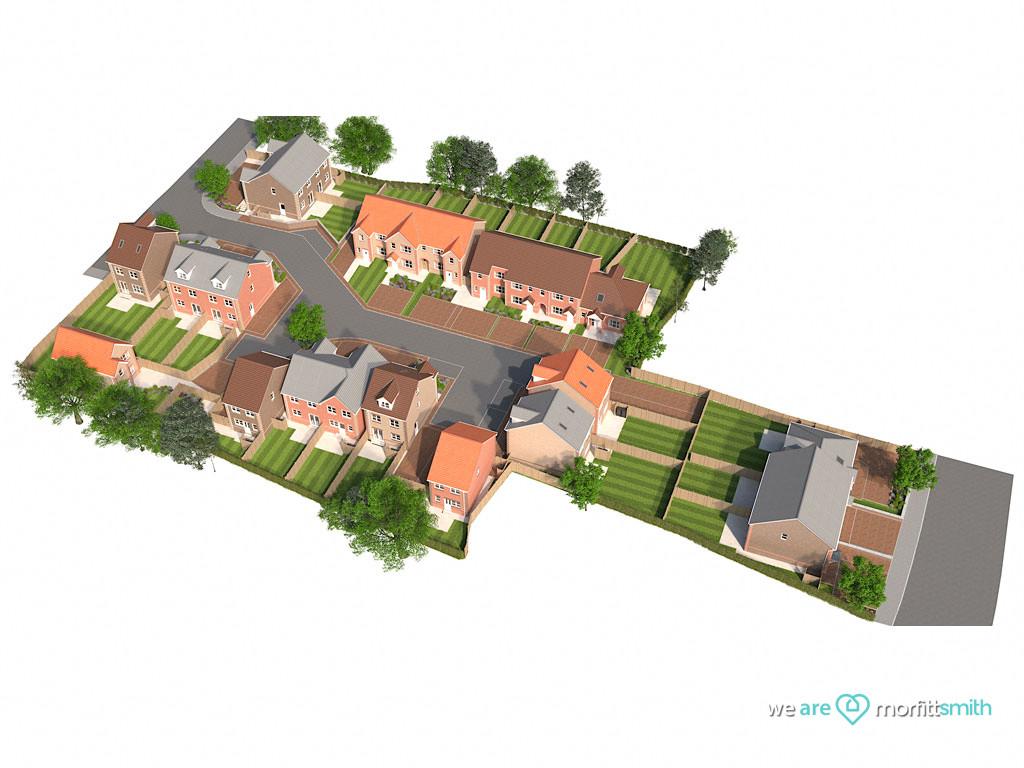 Plot 22 The Osprey 4 Almond Court Moorends Doncaster South Yorkshire DN8 4FJ