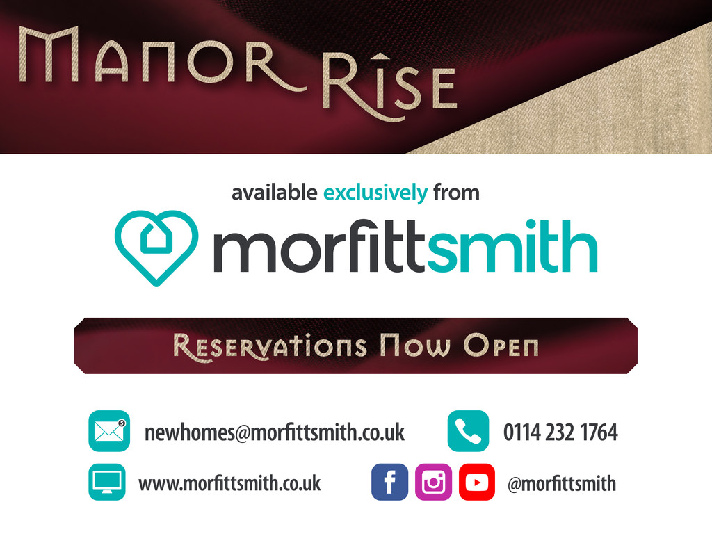 Plot 3 Manor Rise Manor Road Kiveton Park Station Sheffield South Yorkshire S26 6PB