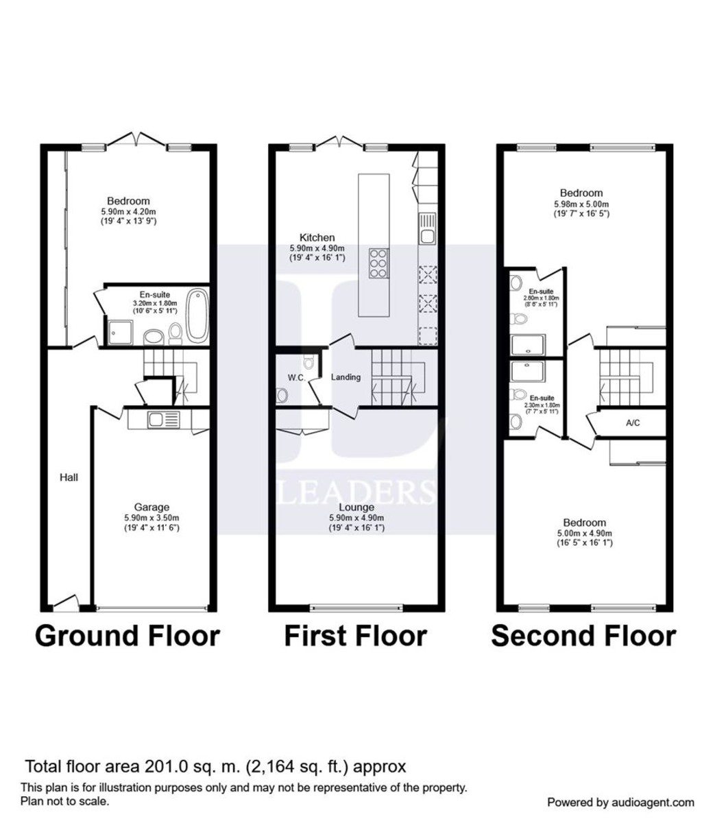 Calshot Court, Southampton floorplan