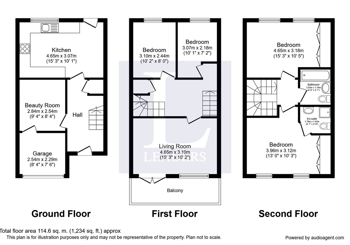 Windward Quay, Sovereign Harbour South, Eastbourne floorplan