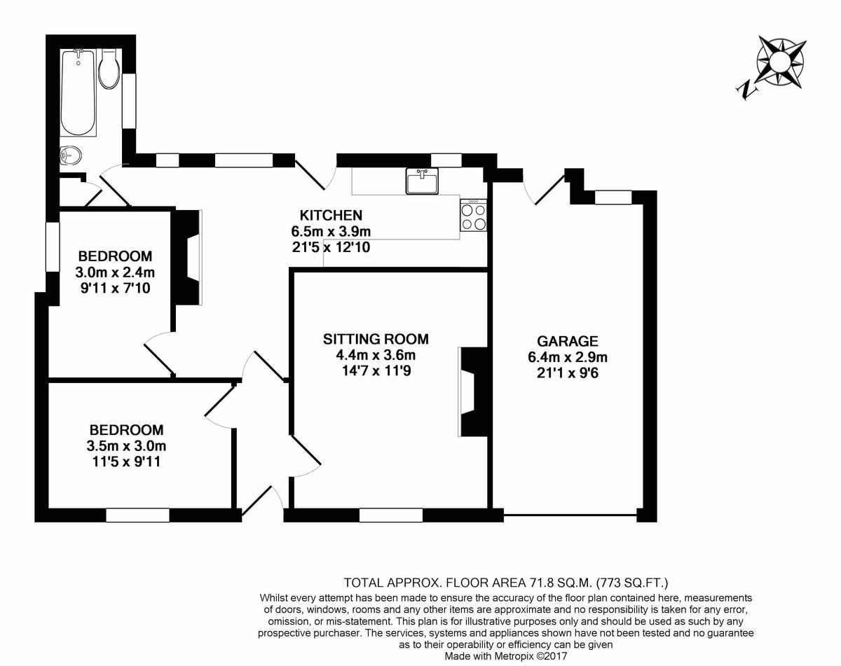 Whelford, Gloucestershire Floorplan