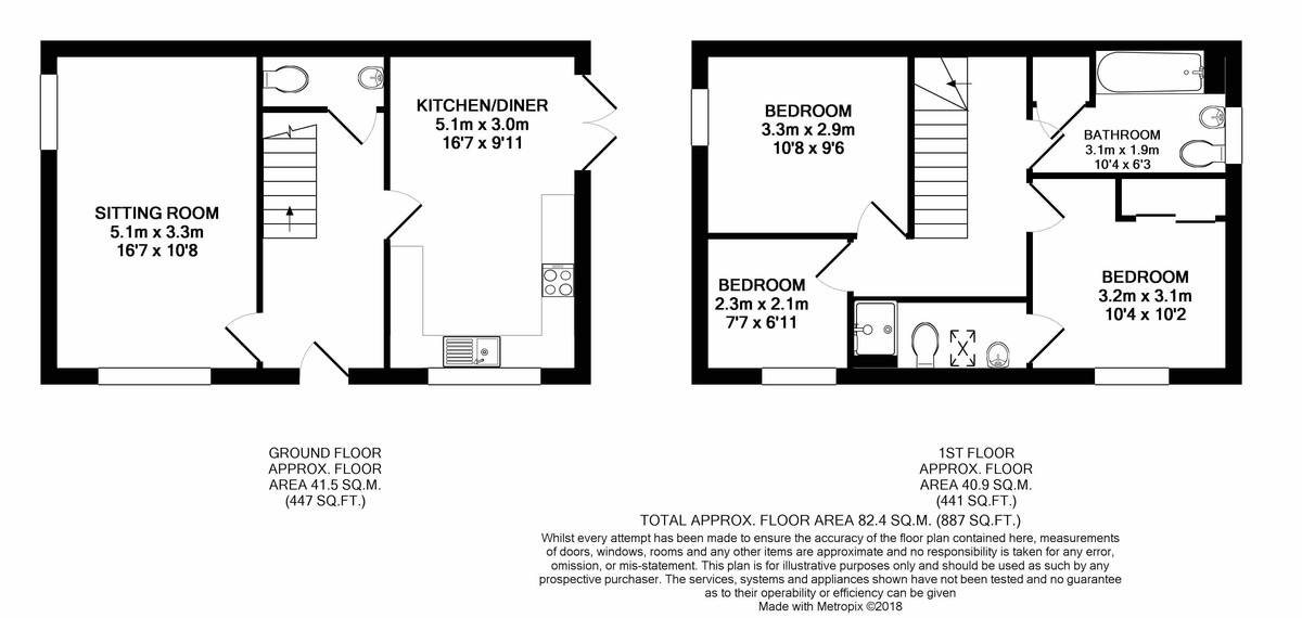 Jacobs Piece, Fairford Floorplan