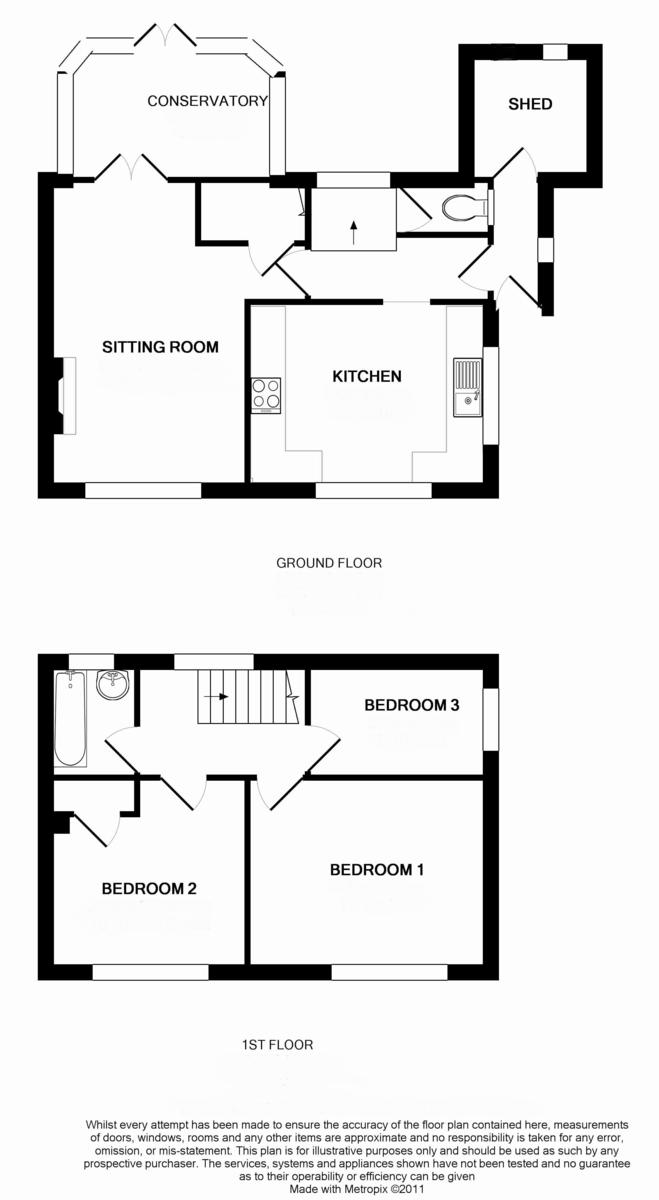 The Green, Quenington Floorplan
