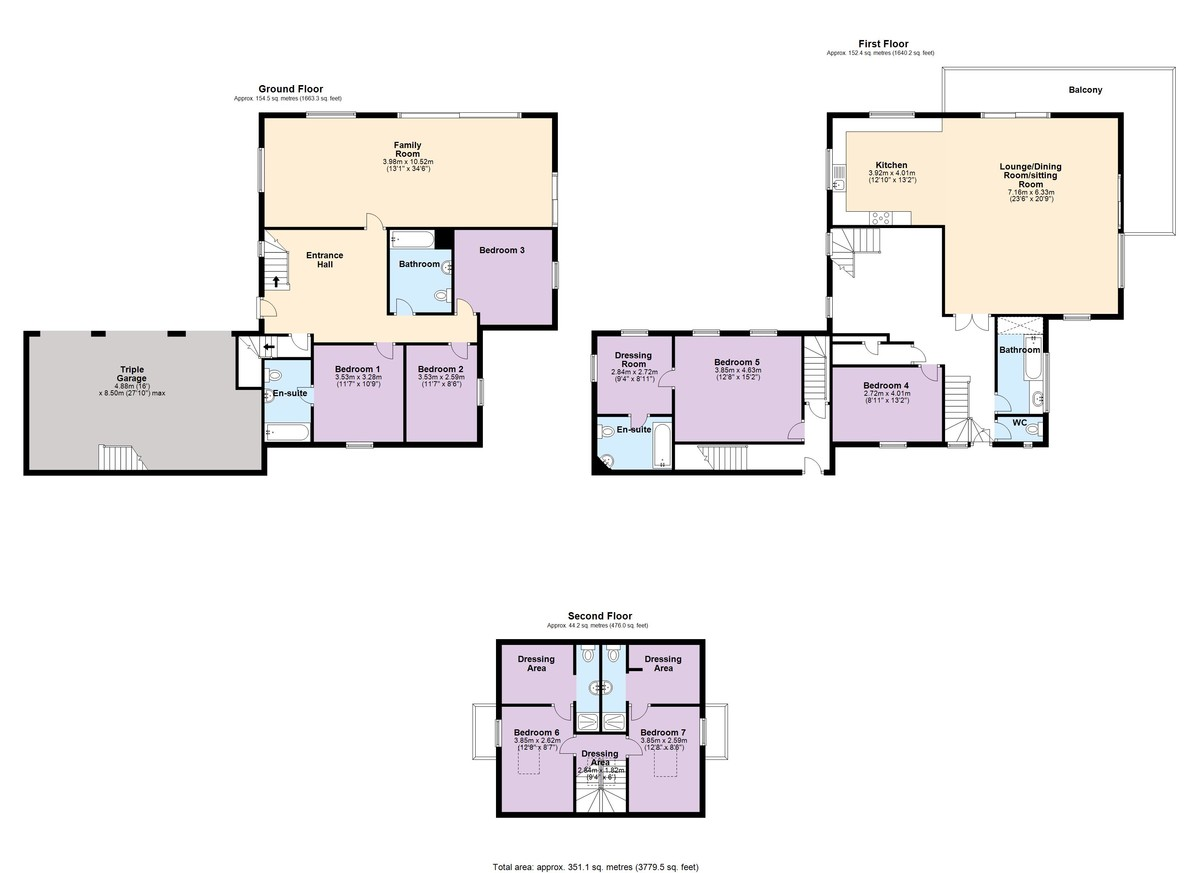 Tidal Waters, Noss Mayo, Devon floorplan