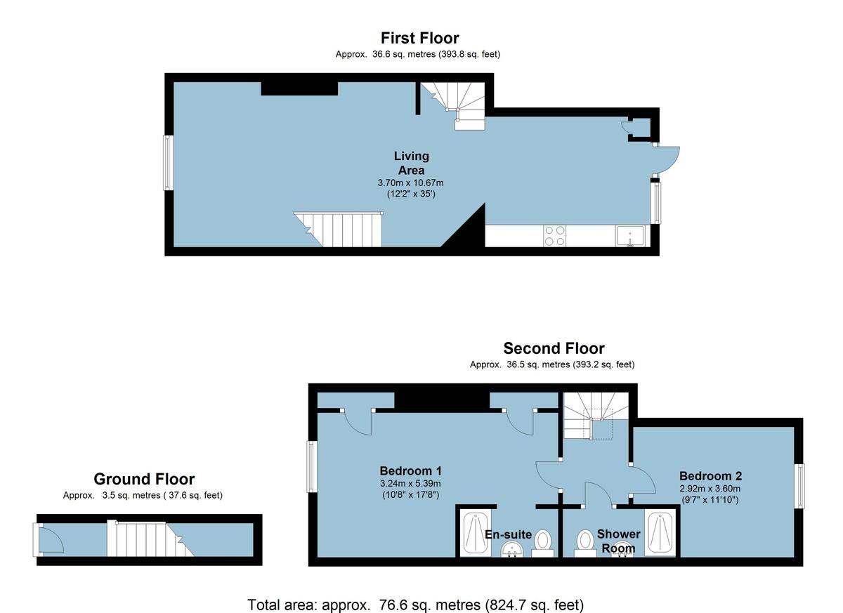 Our Place, Dartmouth, Devon floorplan