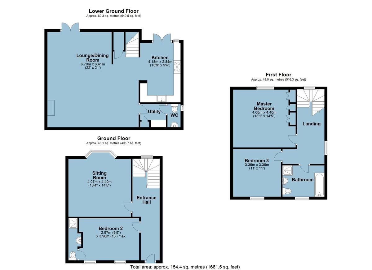 Armorel House, Dartmouth, Devon floorplan