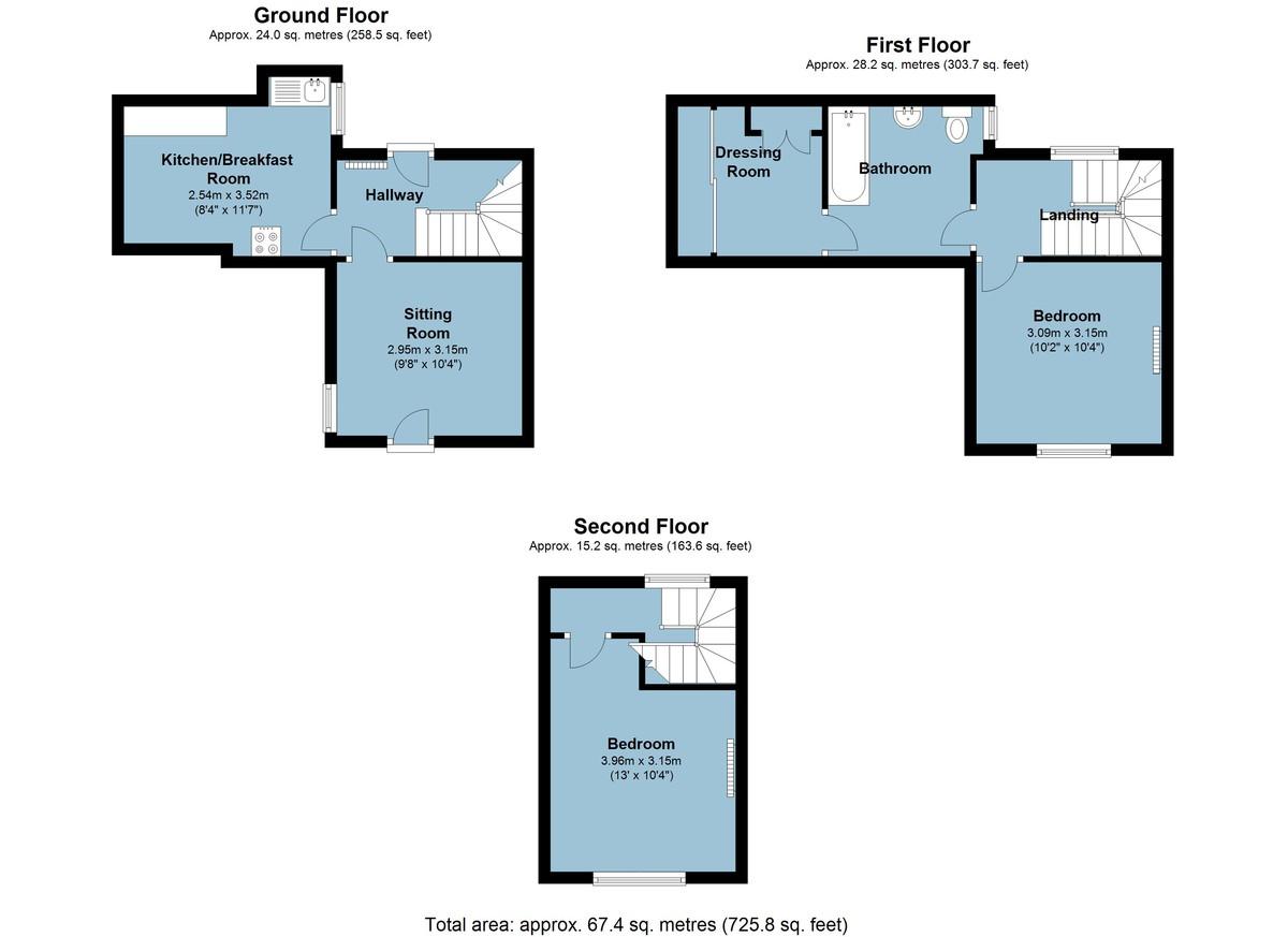 Newport Street, Dartmouth, Devon floorplan