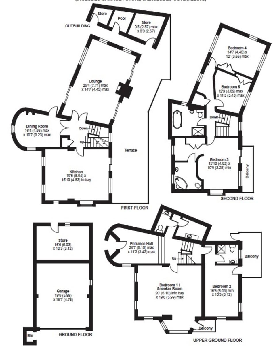 Upper Wood Lane, Kingswear floorplan