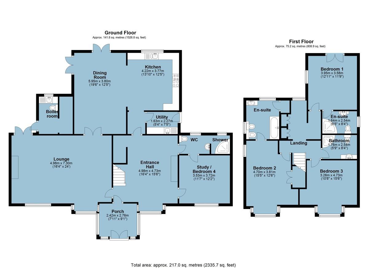 Stoke Fleming, Dartmouth, Devon floorplan