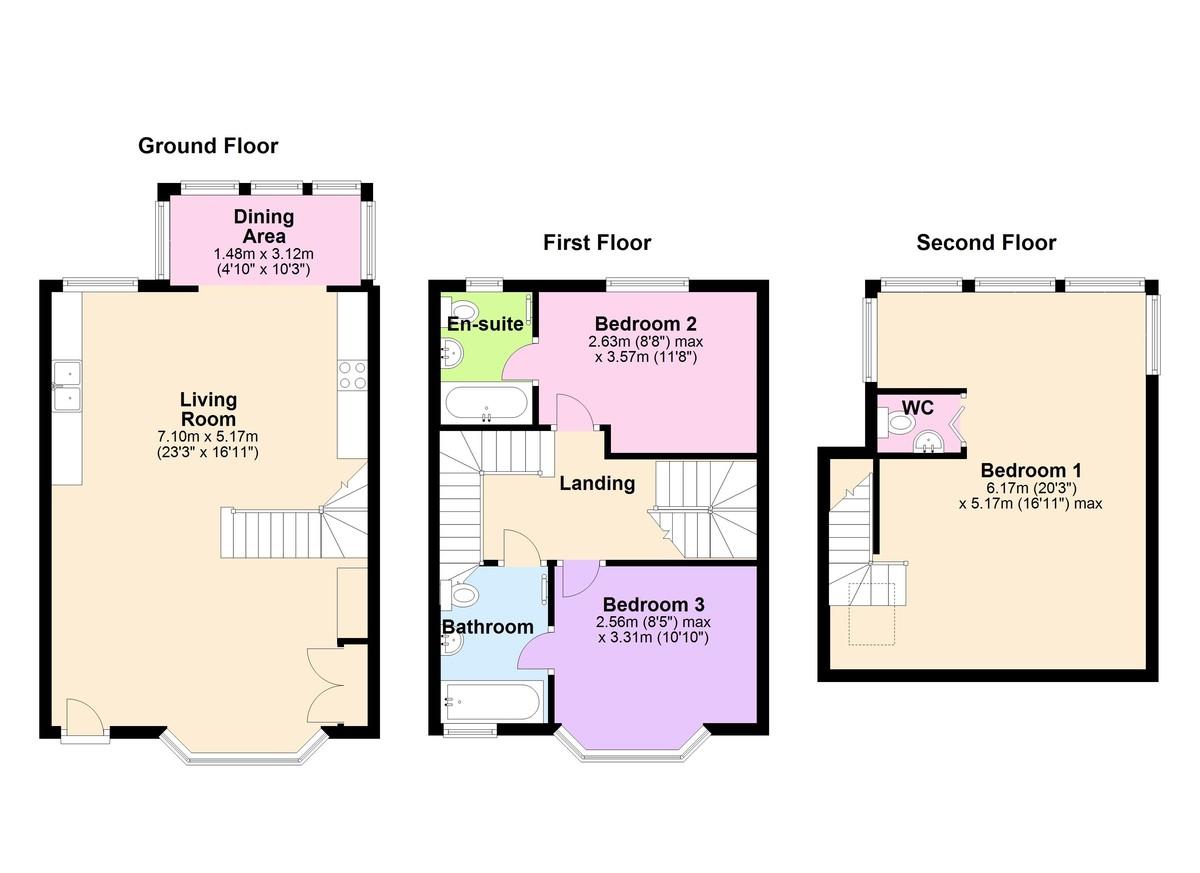 Bryn Mor, Kingswear, Devon floorplan