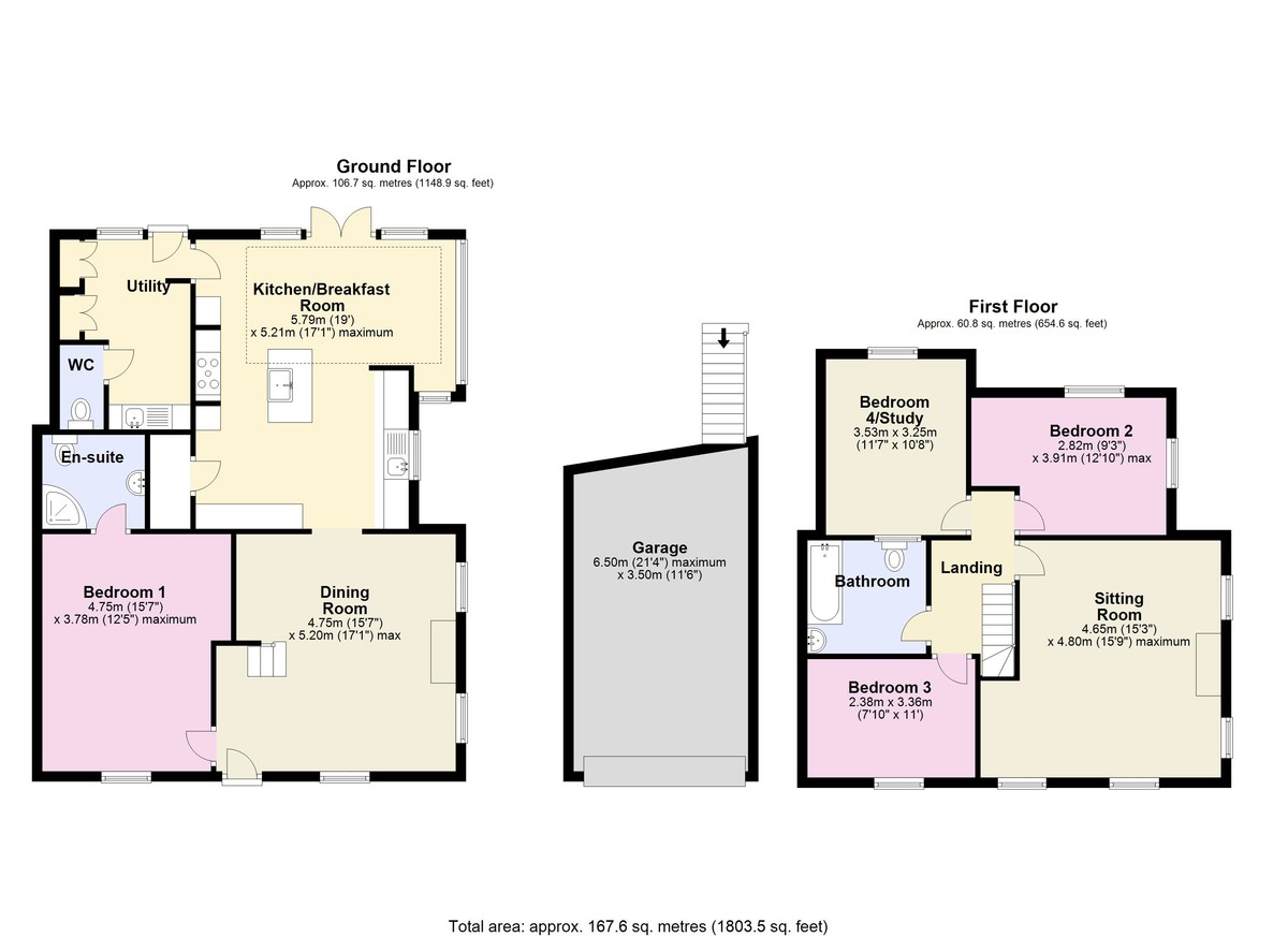 Lyndhurst, Dittisham, Dartmouth floorplan