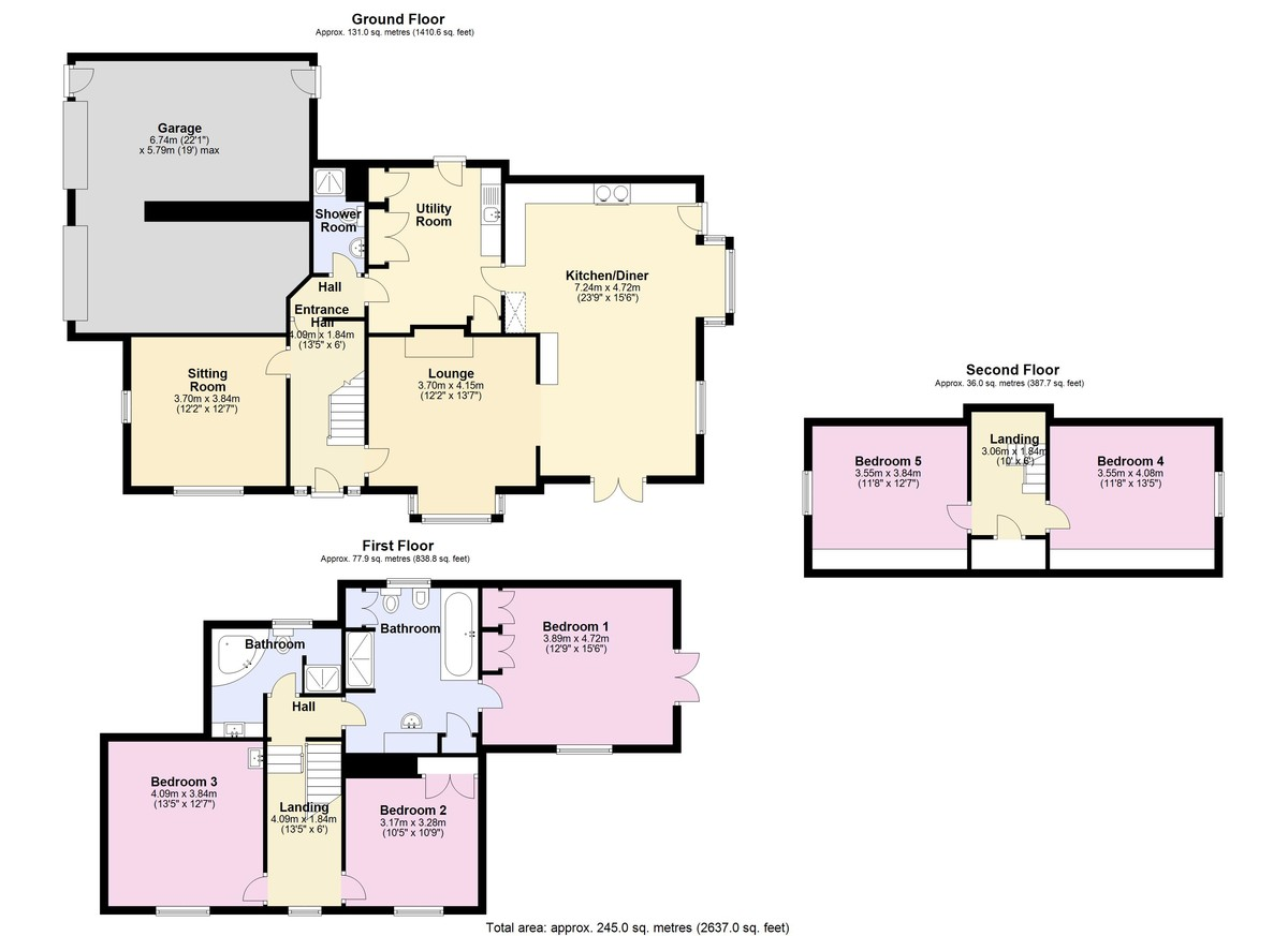 Victoria Lodge, Kingsbridge, Devon floorplan