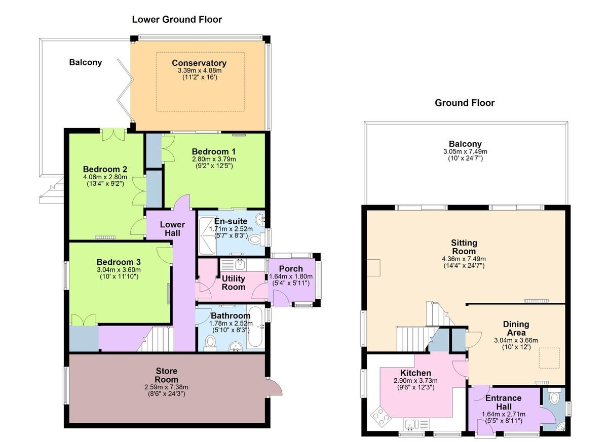 Steps House, Kingswear, Devon floorplan