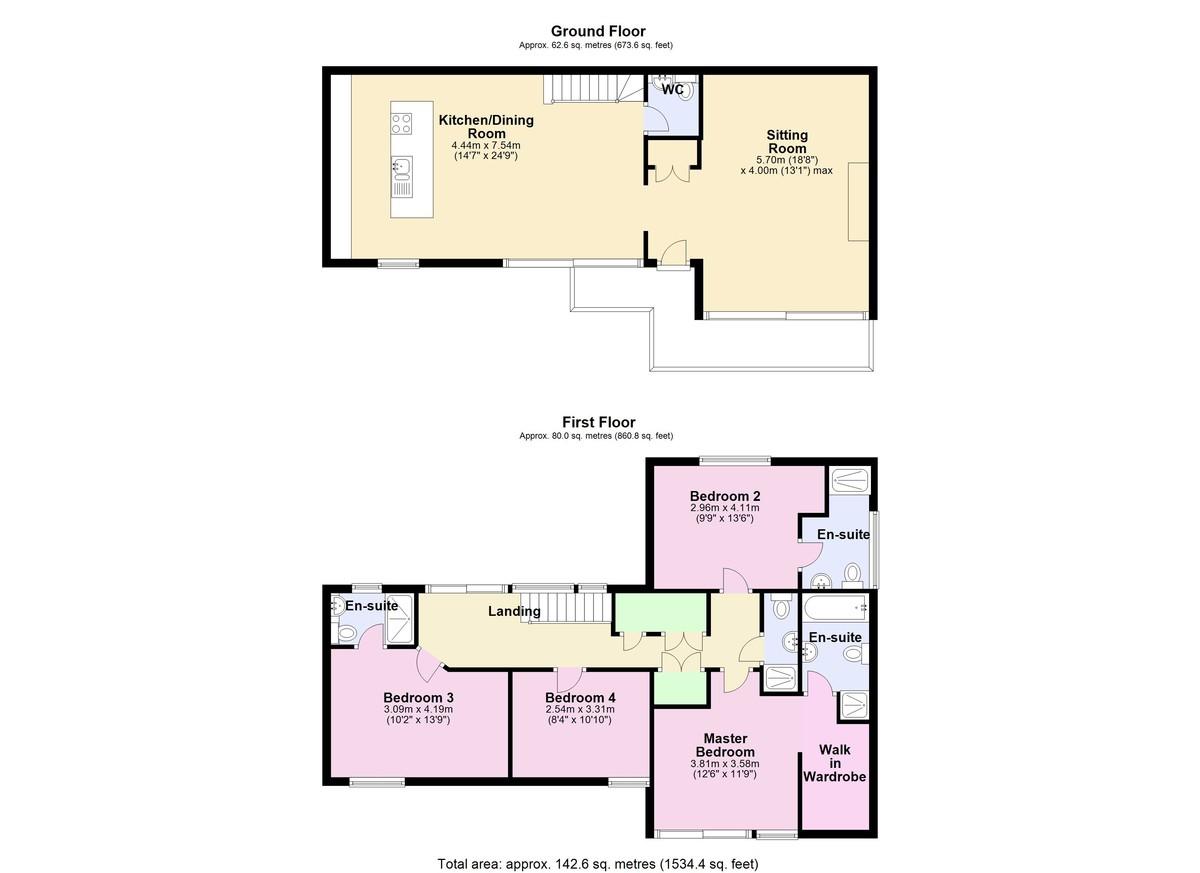 The Qube, Dartmouth, Devon floorplan