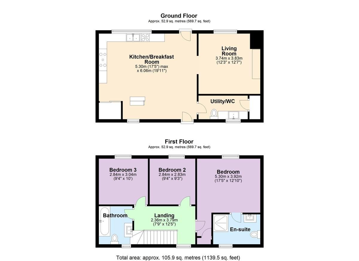 Stoke Fleming, Dartmouth floorplan