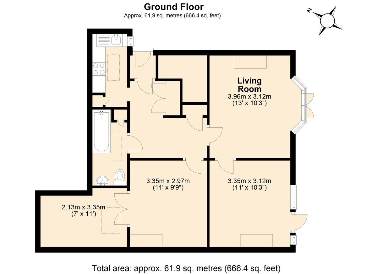 Dartmouth floorplan