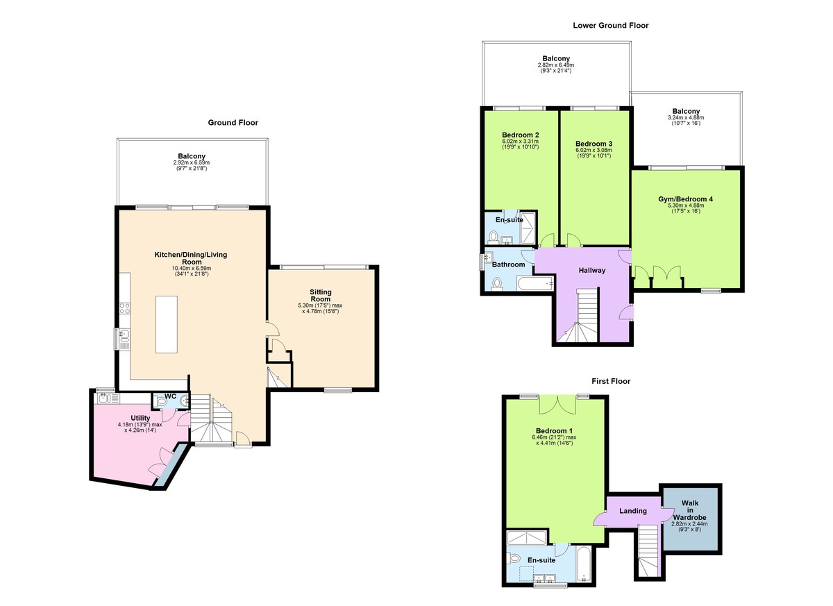 Ridley Hill, Kingswear, Dartmouth, Devon floorplan