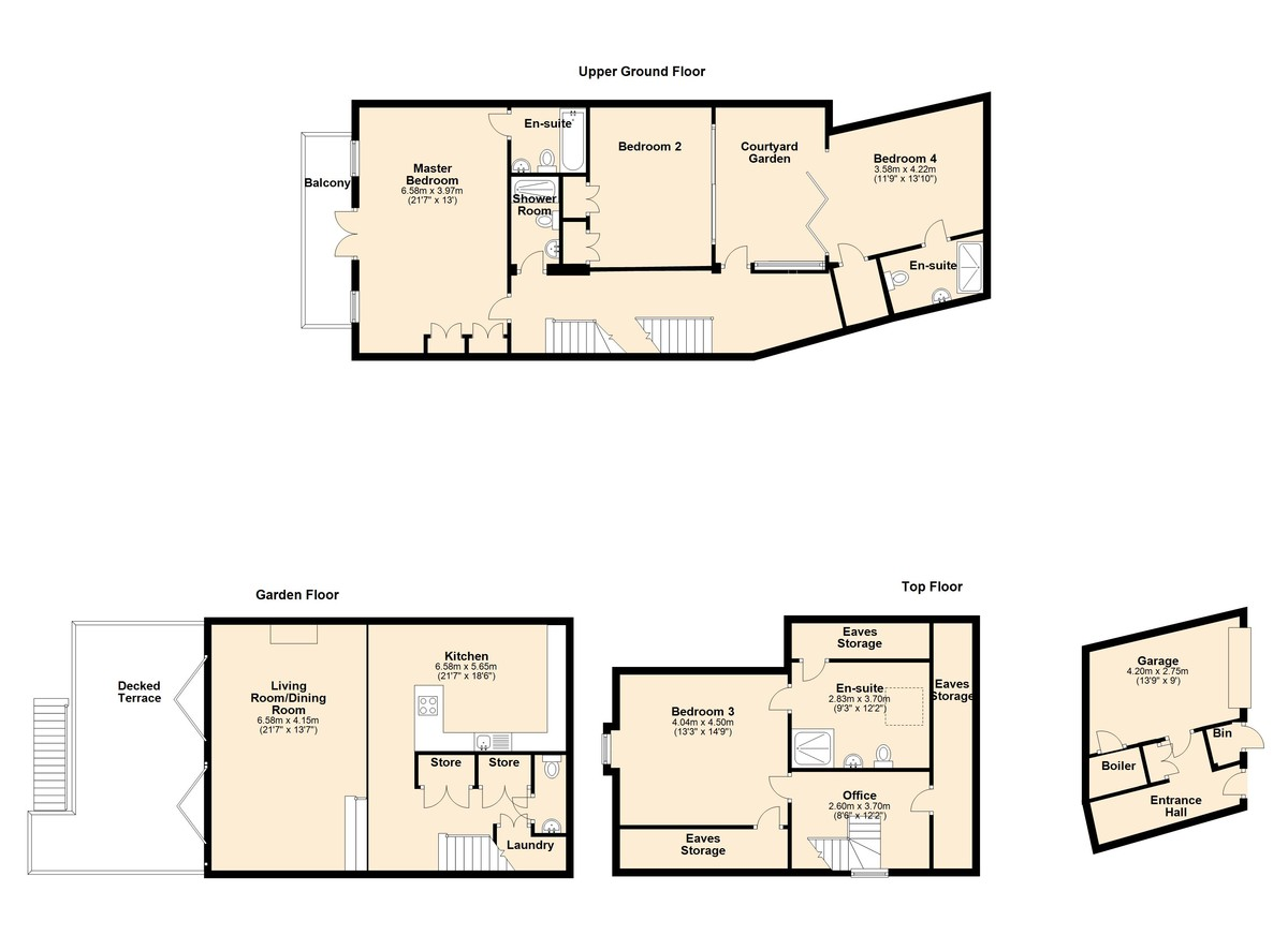 Church Hill, Kingswear, Devon floorplan