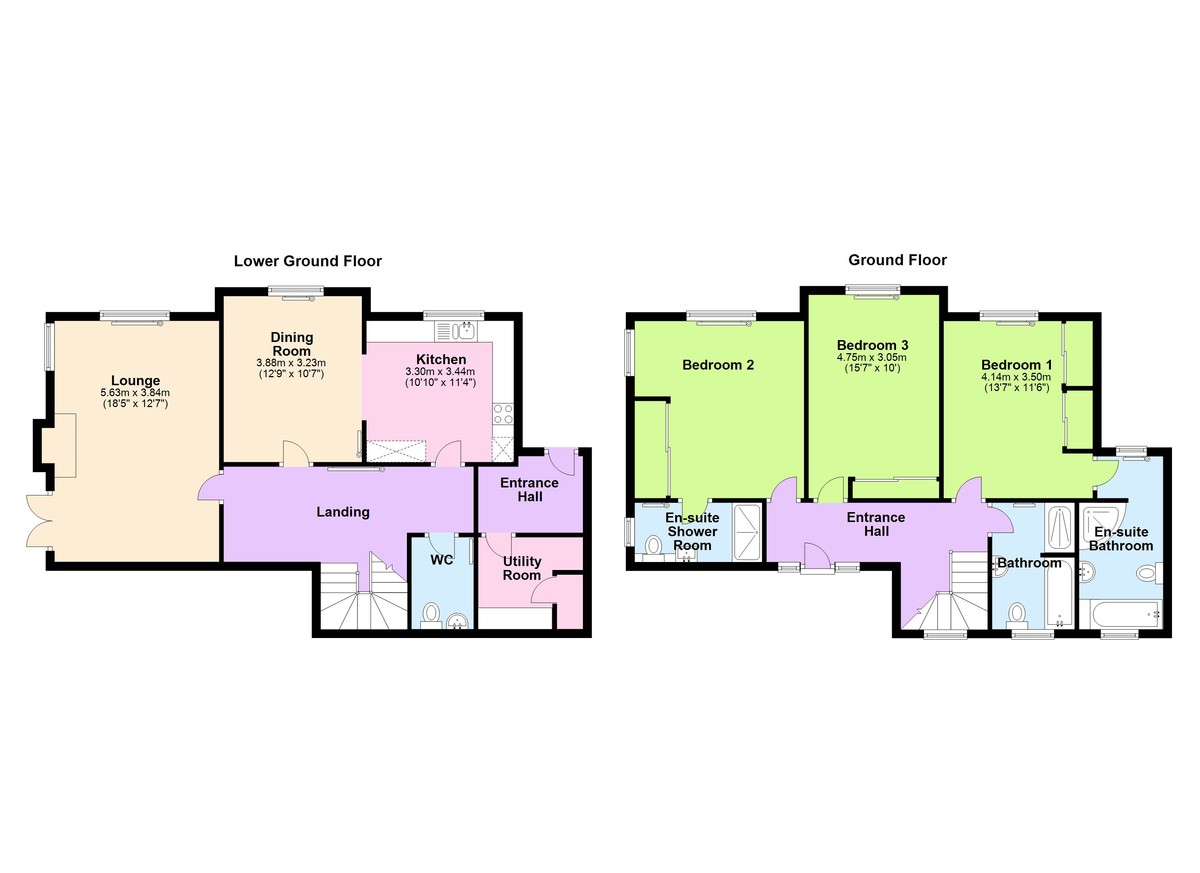 Orchard House, Kingswear, Devon floorplan