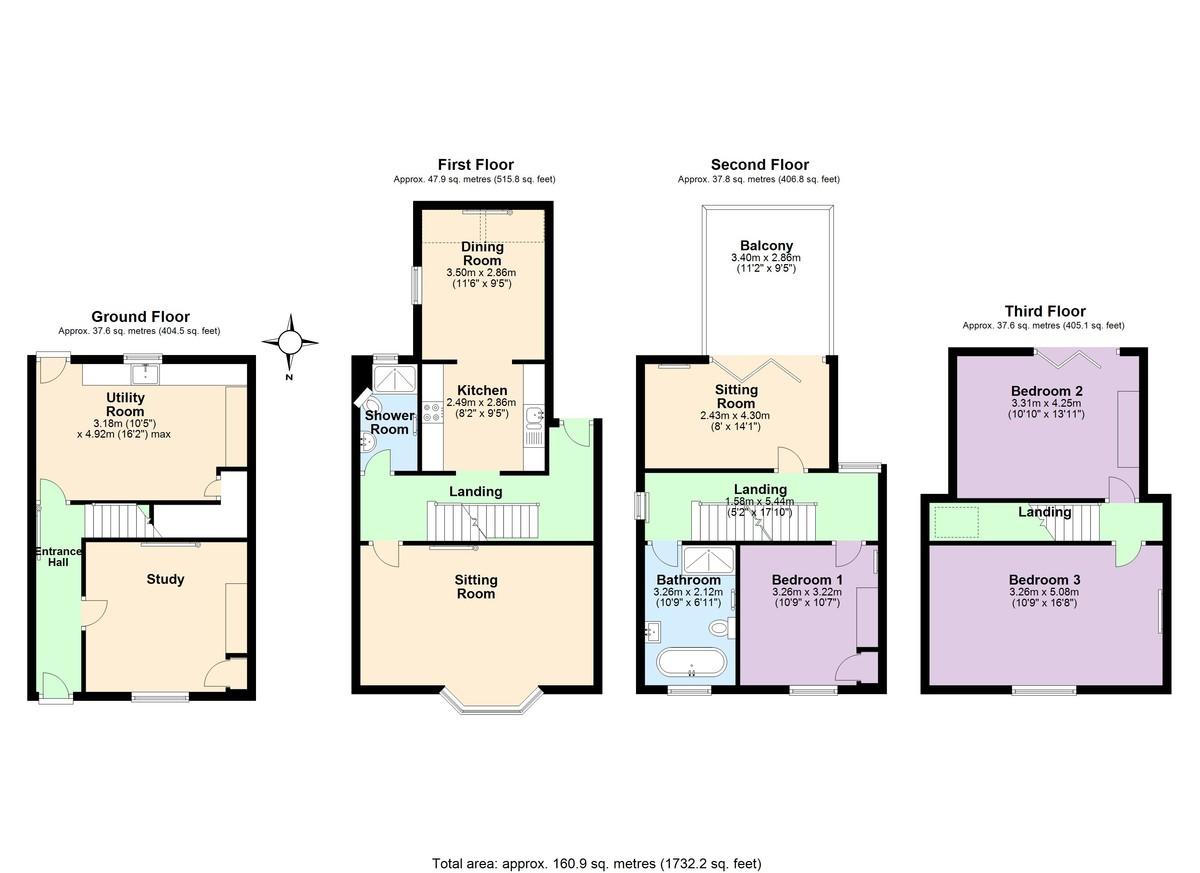 Bailiwick House, 15 Smith Street floorplan