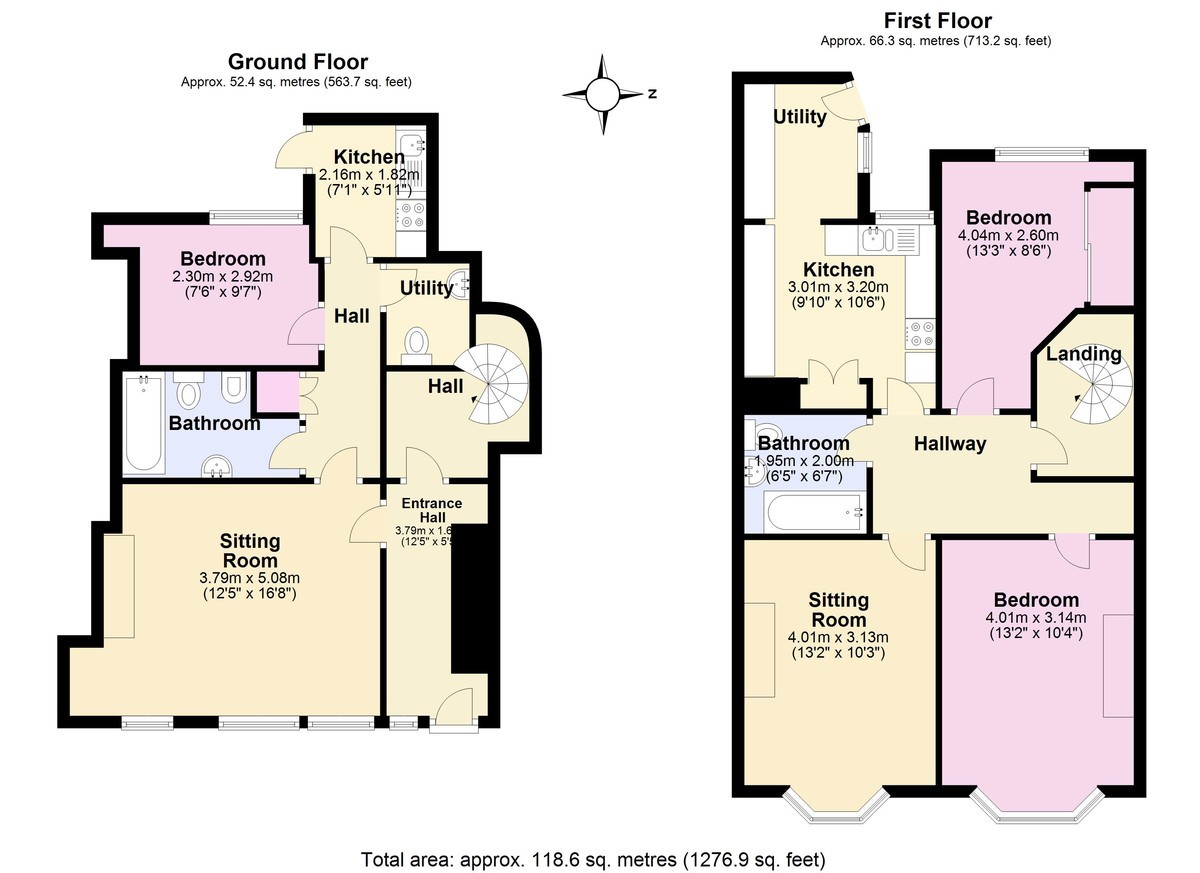 South Town, Dartmouth floorplan