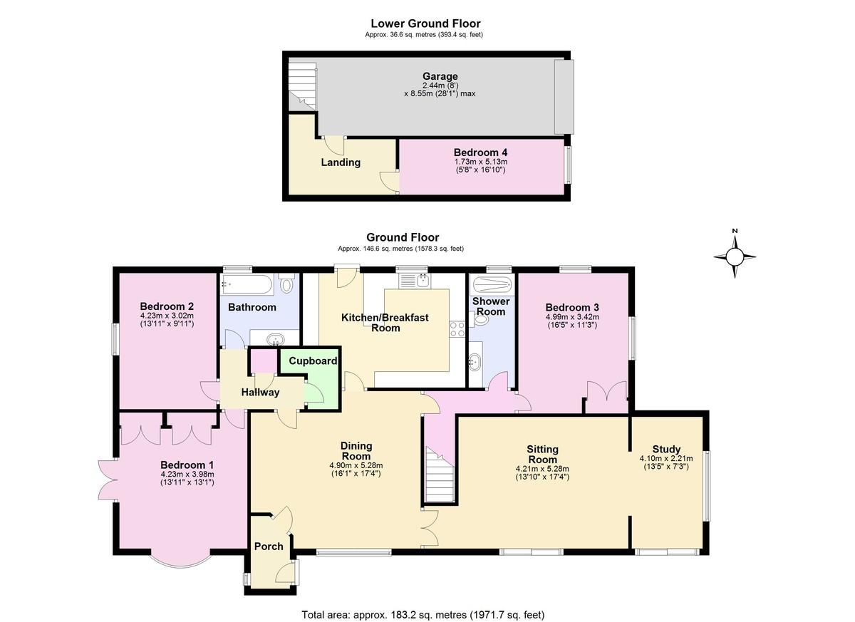 Stokenham, Kingsbridge floorplan
