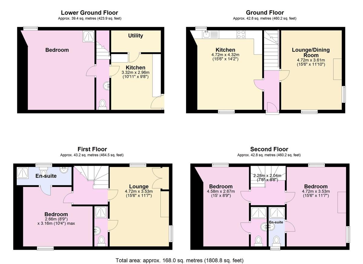 Cherubs Nest, 15 Higher Street floorplan