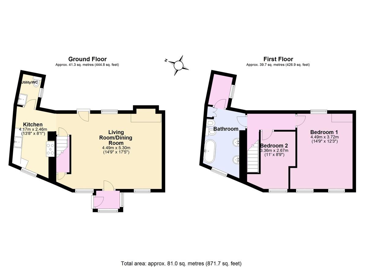 Hartley Cottage, Strete, Dartmouth floorplan
