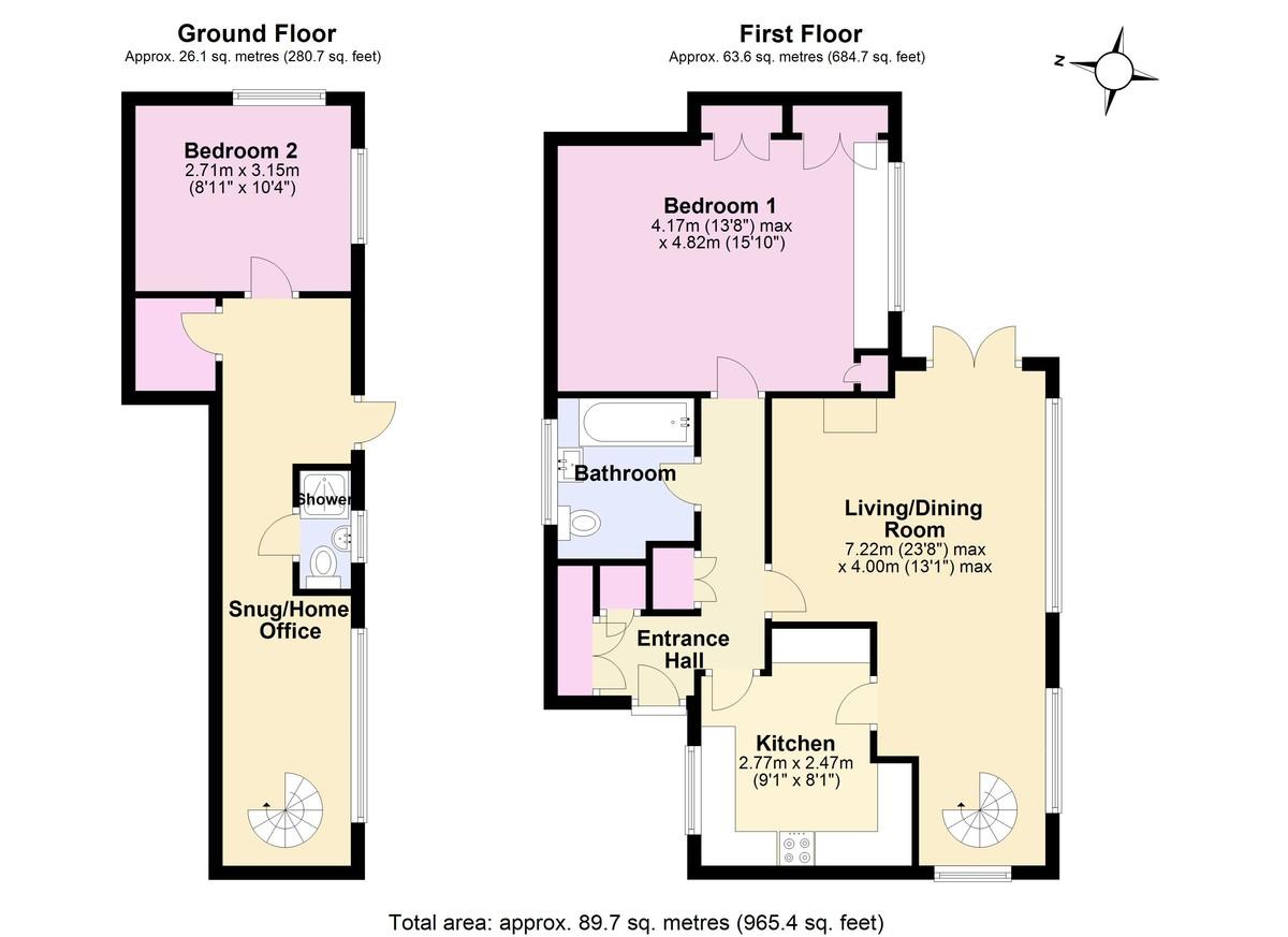 Warfleet, Dartmouth floorplan