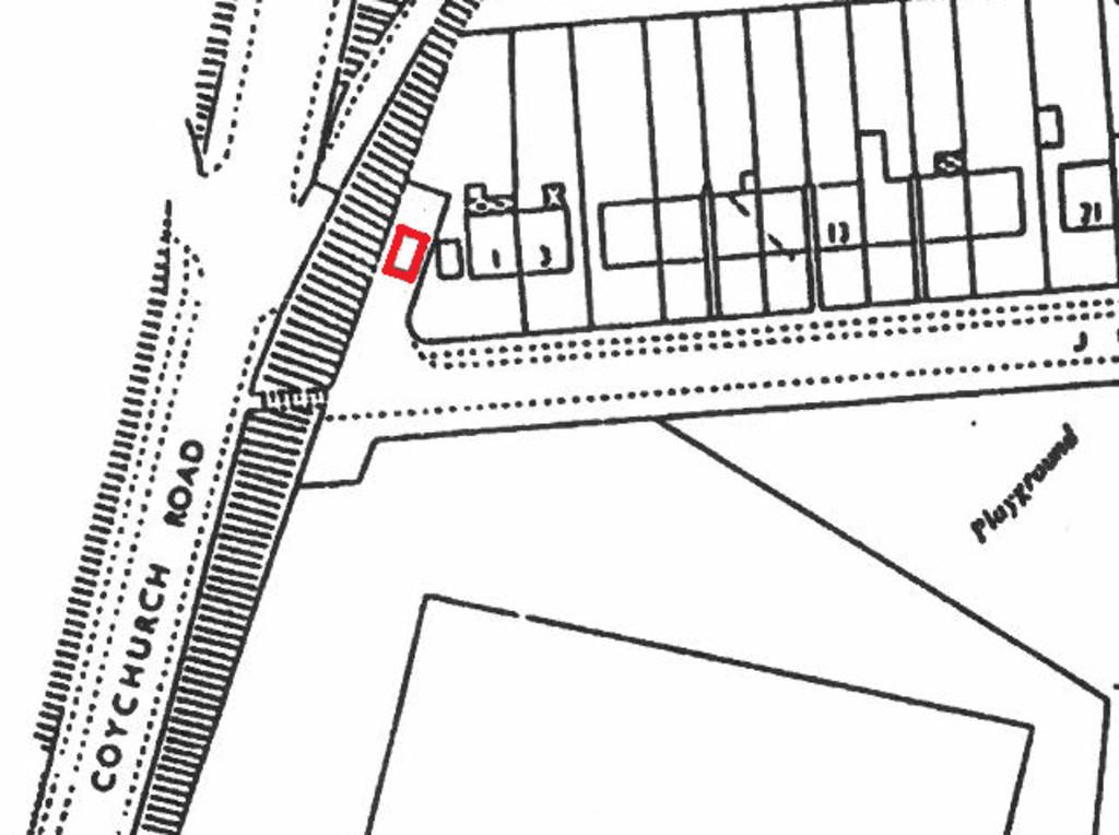 Lock-up Garage at Jubilee Crescent, Bridgend, CF31 3AY.