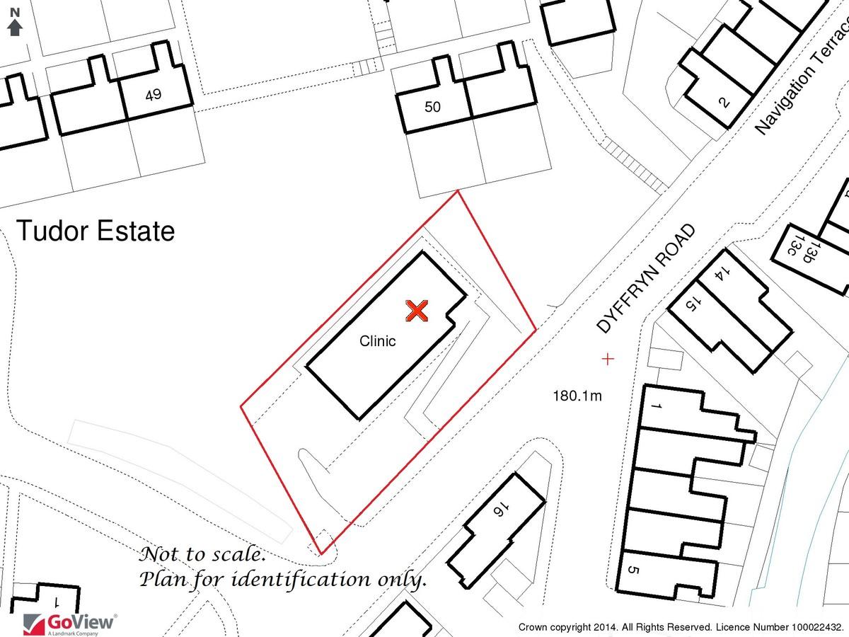 Auction 375 LOT 5 Former Clinic, Duffryn Road, Caerau, Maesteg, Mid Glamorgan, CF34 0SS