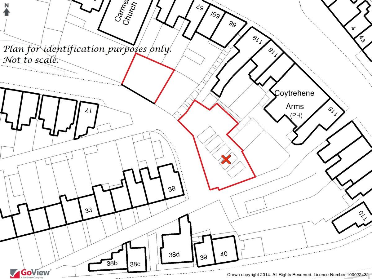 Auction 375 LOT 11 Land at Penygarn Terrace, Maesteg, Mid Glamorgan, CF34 9AU