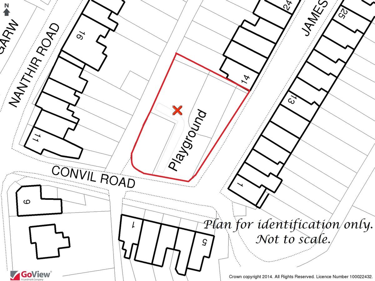 Auction 375 LOT 18 Land at James Street/Convil Road, Blaengarw, Bridgend, Mid Glamorgan, CF32 8BN