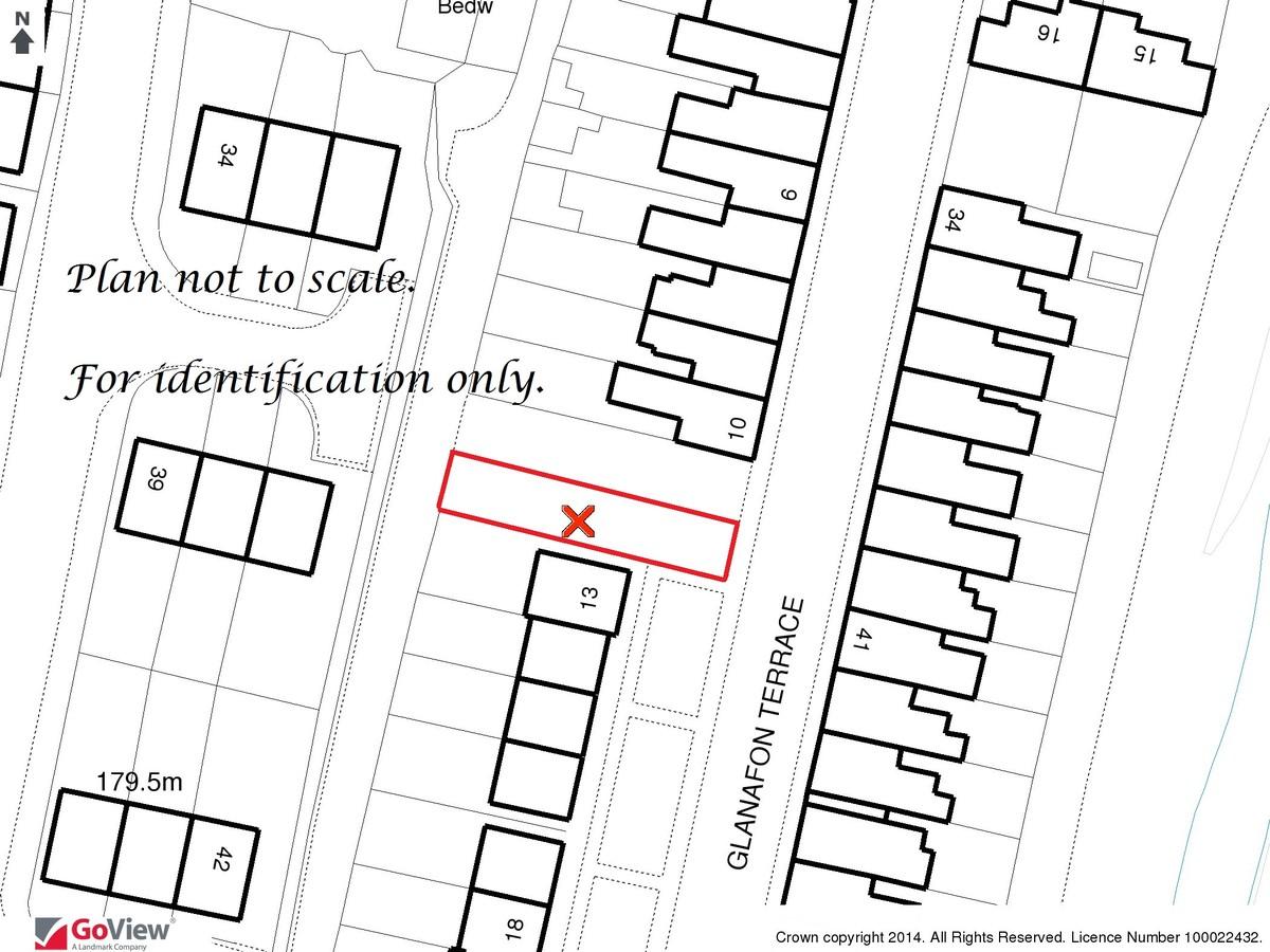 Auction 375 LOT 20 Land adjoining 13 Glanafon Terrace, Caerau, Maesteg, Mid Glamorgan, CF34 0SE