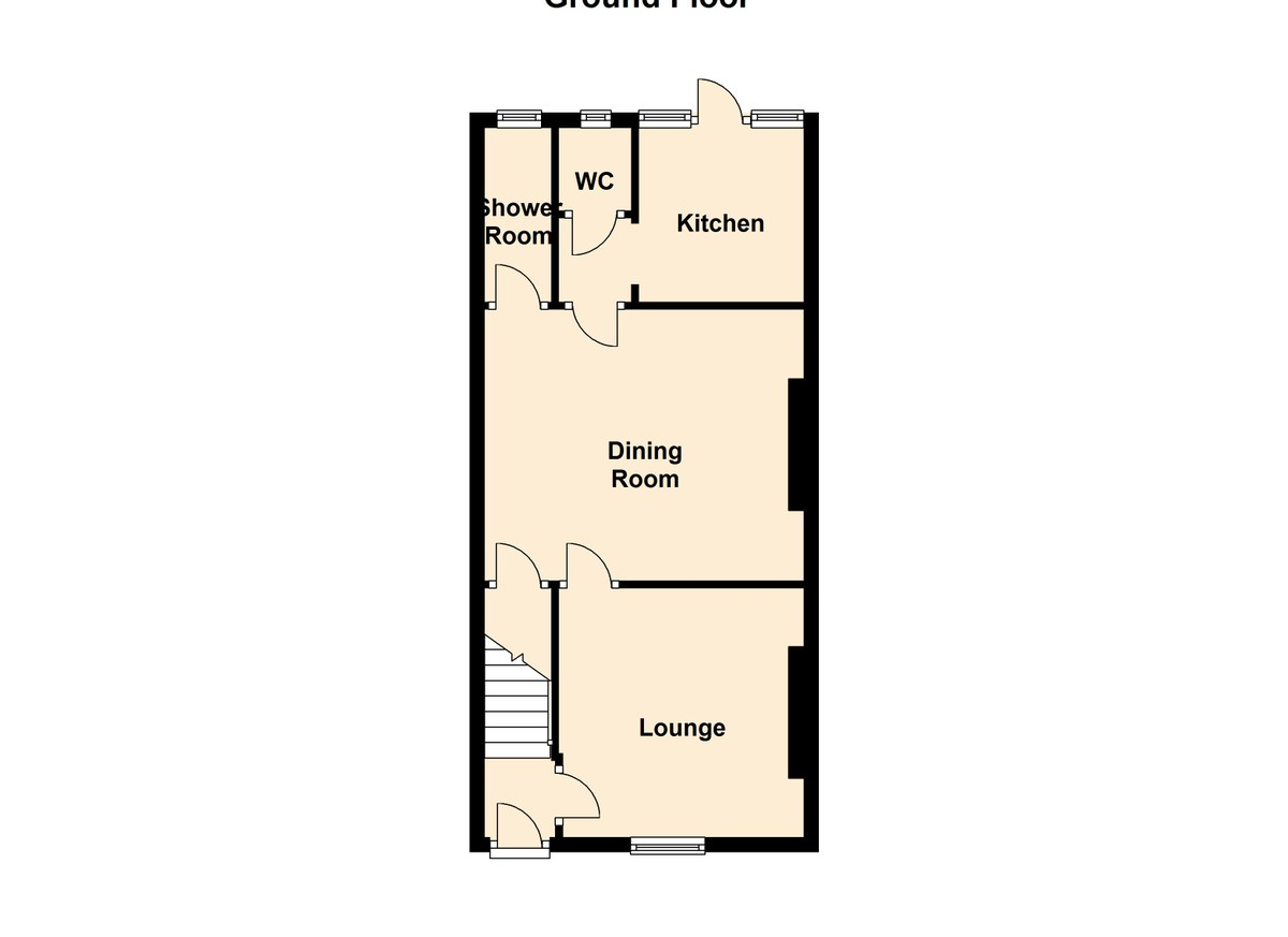 Auction 375, LOT 21 25 Chapel Street, Bridgend, CF31 3BT