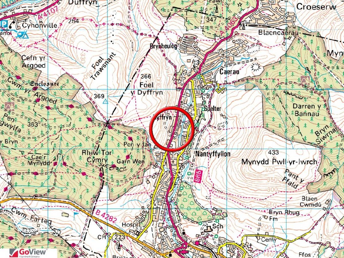 Former School Site, Tonna Road, Nantyffyllon, Maesteg, CF34 0RY