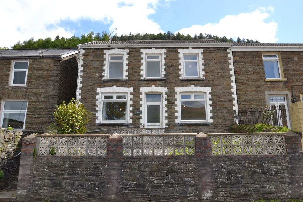 Glenview, Glyn Street, With Approx. 8 Acres Of Land Ogmore Vale, Bridgend County Borough, CF3