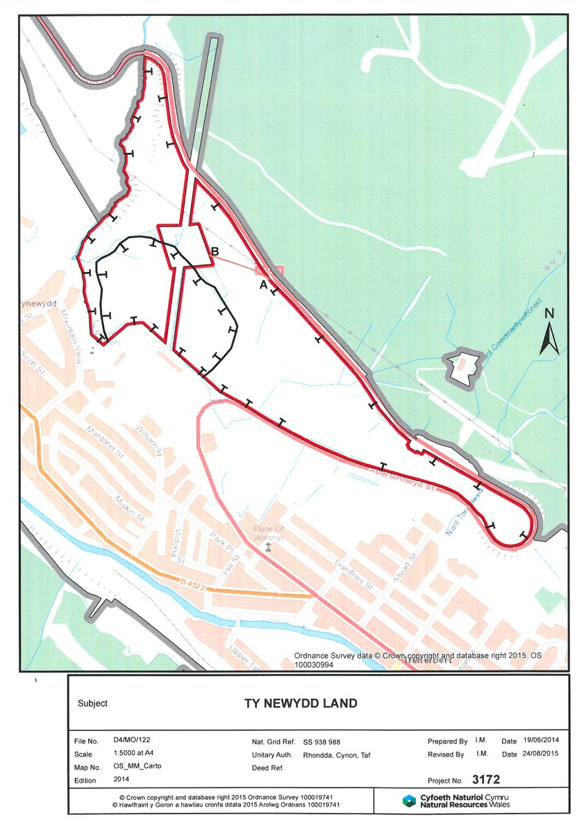 Approx 40.40 acres of land off Rhigos Road, Treherbert, CF42 5LN