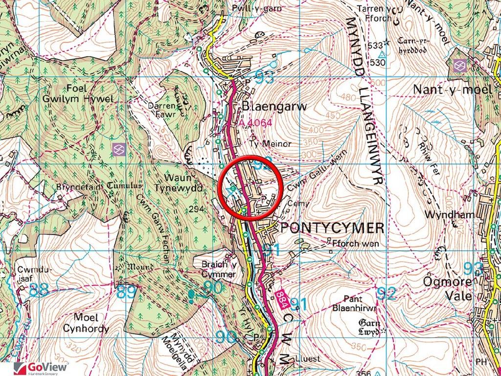 LOT 4 Former Caretakers House YGG Cwm Garw, 14 Hill View, Pontycymmer, Bridgend, CF32 8LU